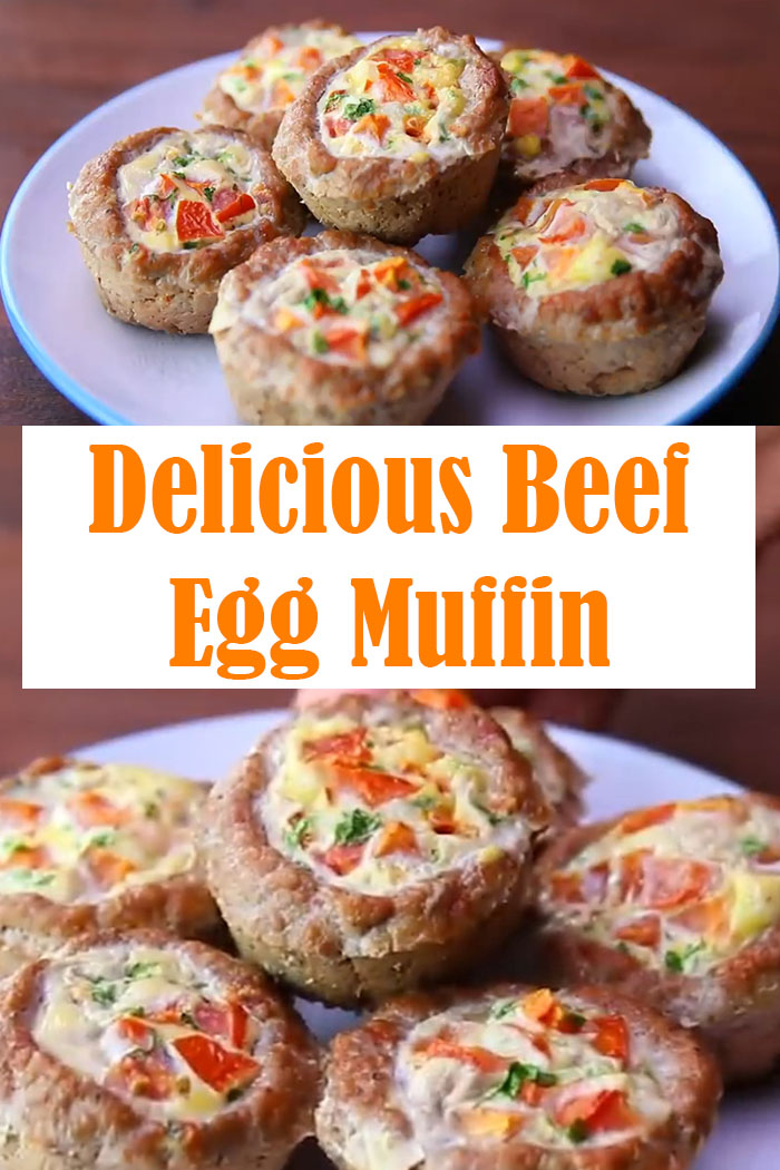 Beef Egg Muffin