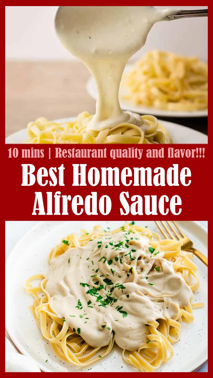 Best Homemade Alfredo Sauce