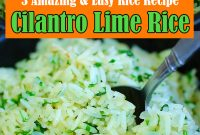 Cilantro Rice Recipe