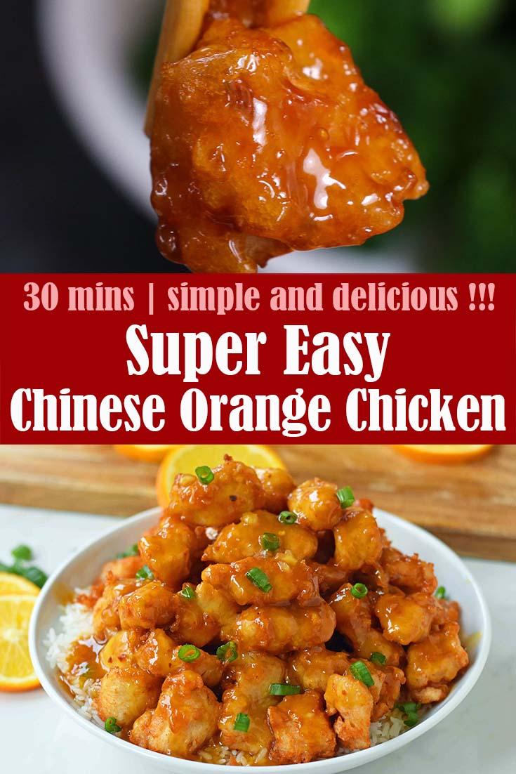 Easy Chinese Orange Chicken 1