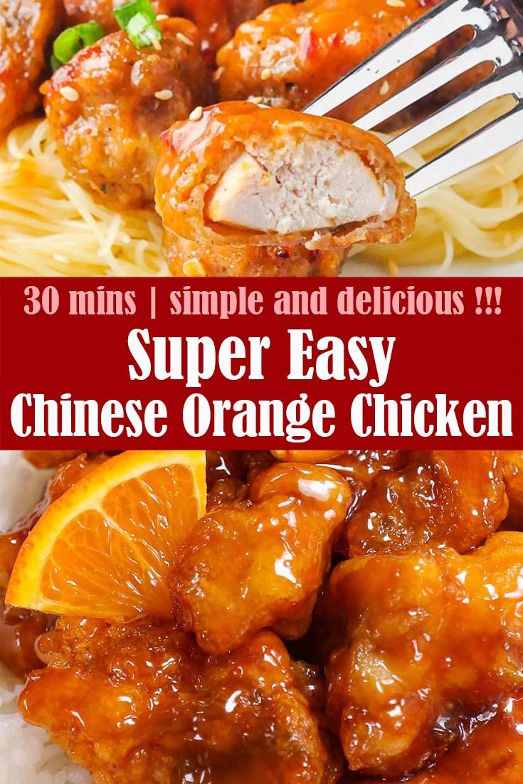 Easy Chinese Orange Chicken