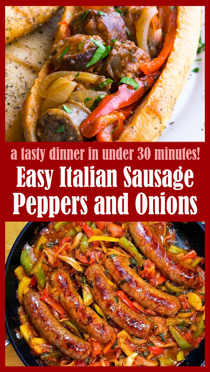 Easy Italian Sausage Peppers and Onions