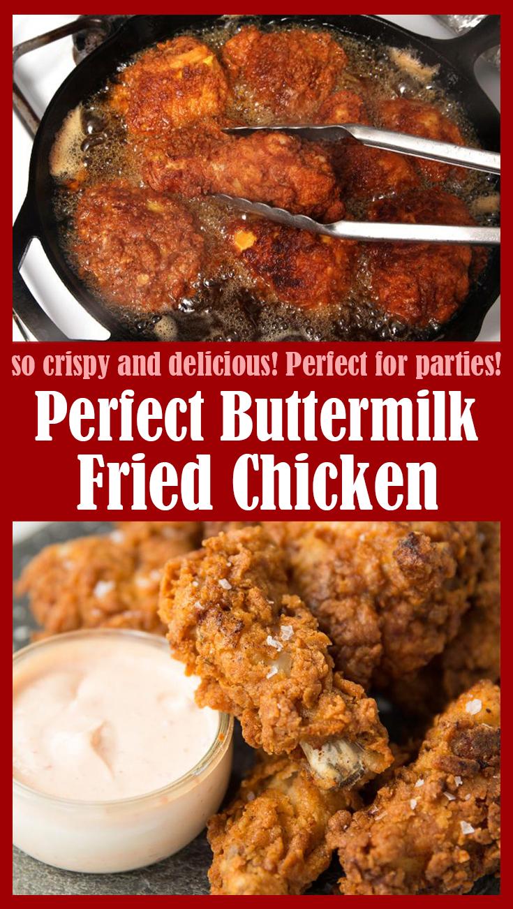 Perfect Buttermilk Fried Chicken