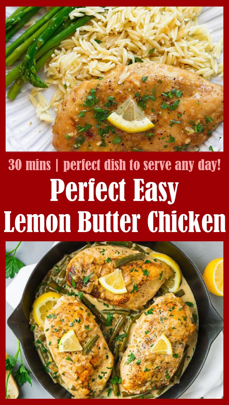 Perfect Easy Lemon Butter Chicken 1