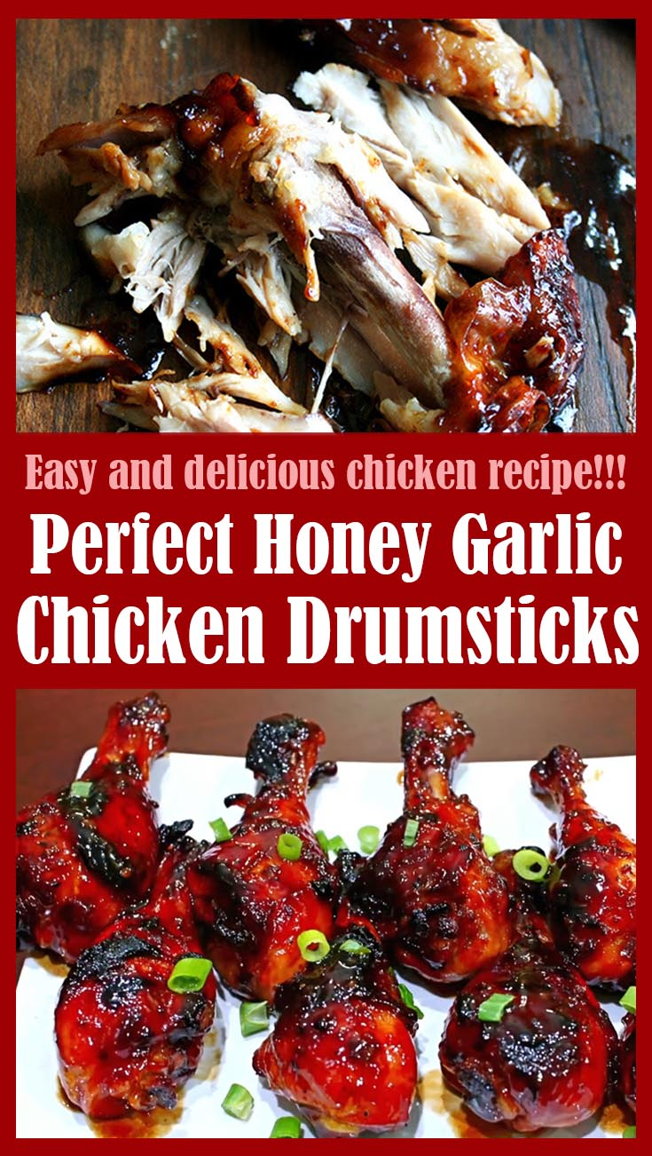 Perfect Honey Garlic Chicken Drumsticks Recipe