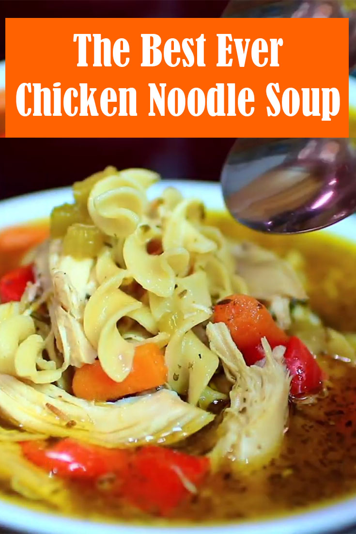 The Best Ever Chicken Noodle Soup